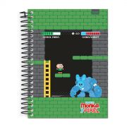 Caderno Turma da M�nica Pixel Cebolinha 1 Mat�ria