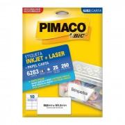 Etiqueta Pimaco InkJet + Laser - 6283 - PORT - Inform�tica - Escrit�rio - Papelaria