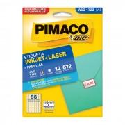 Etiqueta Pimaco InkJet + Laser - A5Q-1723 - PORT - Inform�tica - Escrit�rio - Papelaria