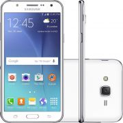 Smartphone Galaxy J7 Duos SM-J700M, Octa Core, Android 5.1, Tela 5.5, 16GB, 13MP, 4G, Branco - Samsu