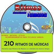 Ritmos de M�sicas Espec�ficas para Teclado Yamaha ( 210 Styles de M�sicas )