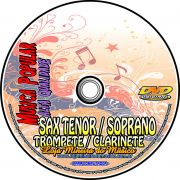Sax Tenor 200 Partituras Populares + Playbacks Alta Qualidade MP3