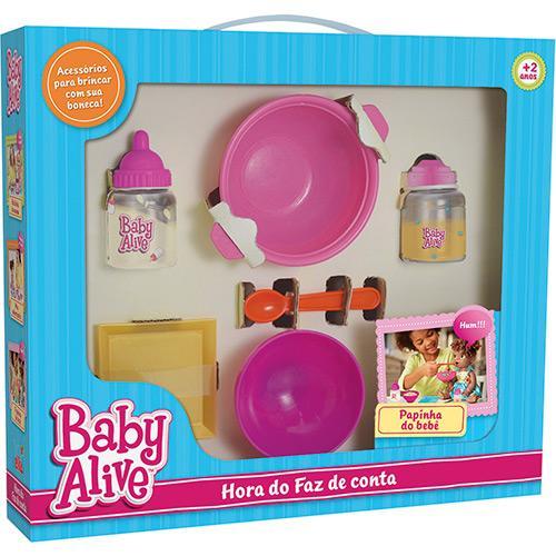 Hora do Faz de Conta Baby Alive Papinha Elka Ref. 986