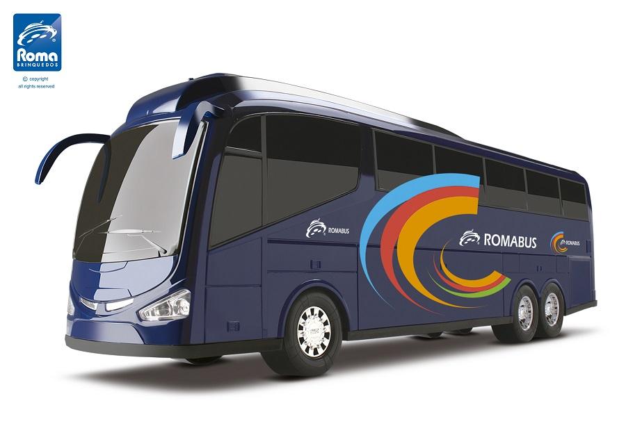 Ônibus Roma Bus Executive 48 Cm Roma Ref. 1900