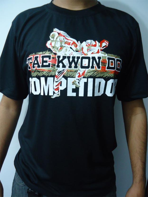 Camisa/Camiseta - Taekwondo Competidor - Toriuk