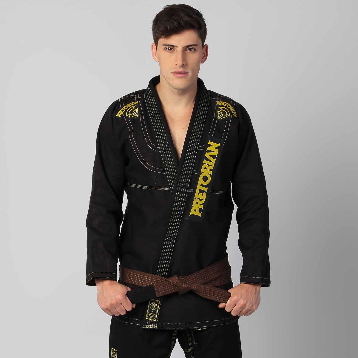 Kimono Jiu Jitsu - Pretorian Pro - Preto