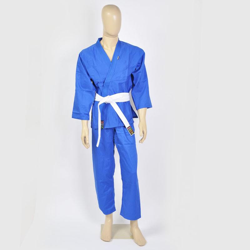 Kimono Judo Gi - Refor�ado - Azul - Adulto - Shiroi