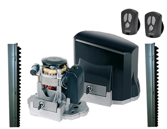 Kit motor portão eletronico deslizante veloz titan speed 1 / 3 hp - Unisystem