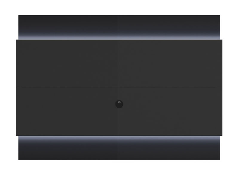 Painel para TV Lincoln Preto Gloss 1.9 - Prov�ncia