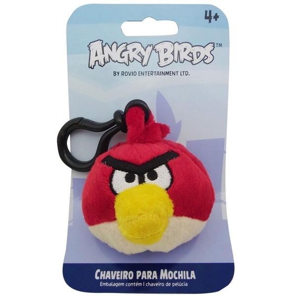 Chaveiro de Pel�cia Red Bird Angry Birds - Toyng