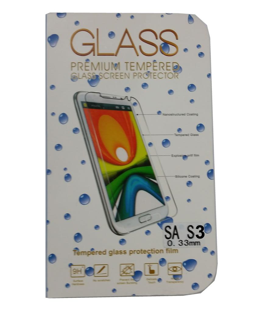 Película de Vidro Temperado Lisa para Samsung Galaxy S3 i9300 anti impacto